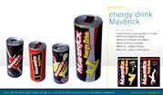 obalový design Velta Plus EU - energy drink Maverick