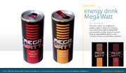 obalový design Velta Plus EU - energy drink Mega Watt